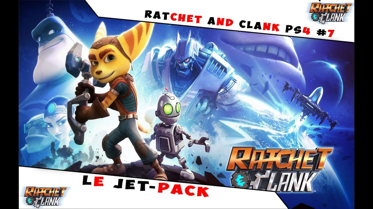 Let S Play Ratchet And Clank Ps4 7 Le Jet Pack Youtube