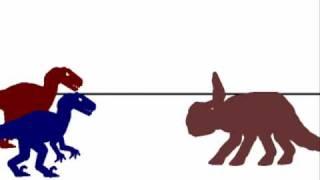 PJFC-Velociraptor vs protoceratops