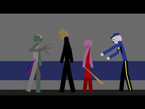Mr. Stitchy Take Care Of Penny #4 (vs Cyborg Zompiggy) - Piggy Animation