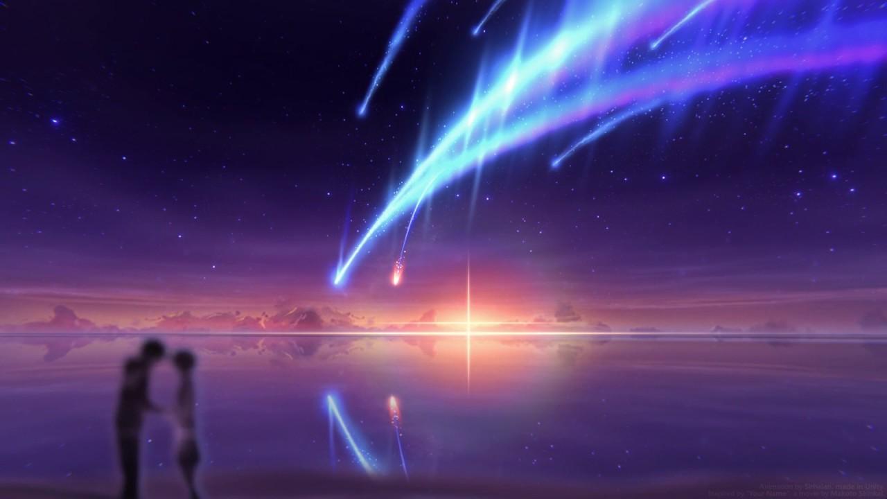 VFX Art Scene - Tiamat Comet (Kimi no na wa) - YouTube