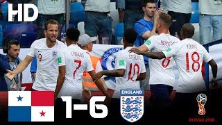England vs Panama (6-1) - 2018 FIFA World Cup Russia- Highlights HD