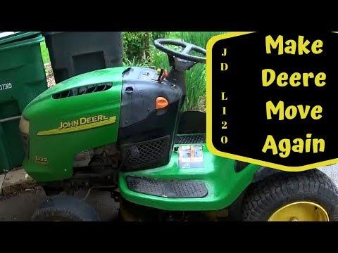 John Deere L120 Hydro Fluid Change ............. Tuff Torq K46 HD