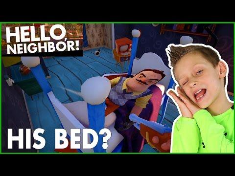 Sleeping In MY NEIGHBOR's BED