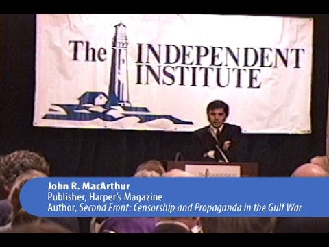 Censorship and Propaganda in the Gulf War: How Government Can Mold Public Opinion