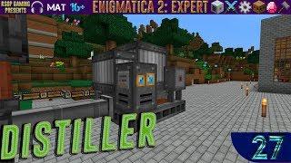 LP ► Minecraft ► Enigmatica 2: Expert #27 - Distiller (Дистиллятор)