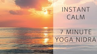 A 7 Minute Yoga Nidra To Rest Well & Beat Anxiety  |  Nicole Windle Yoga