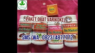 Paket Ampuh Obat Varikokel Herbal De Nature