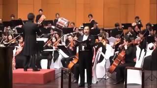 بالفيديو.. الأوركسترا اليابانية تعزف السلام الملكي السعودي بالرياض