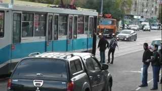 Машина-призрак ДПС у Павелецкого вокзала