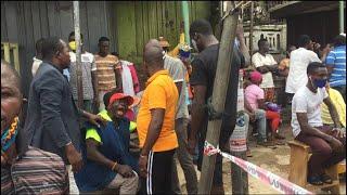 Confusion At Akwatialine Polling Station At Asawase In Kumasi
