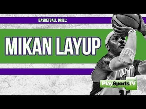 Basketball Drills: Mikan Layup Drill