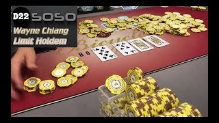 "Wayne Chiang $20/$40 Limit Holdem VLOG 7 ""MASSIVE MULTIWAY POT"" @ Bicycle Casino"