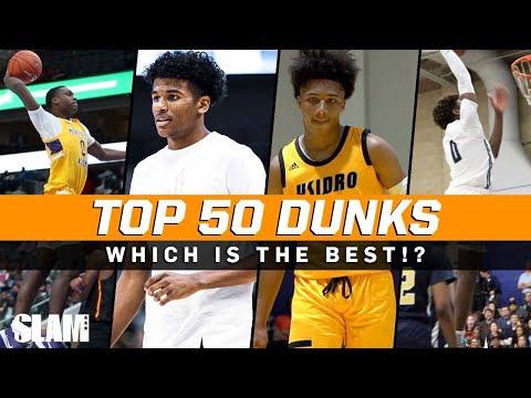 BEST Dunks of the 2019-2020 High School Season! 🔥 SLAM Top 50 Friday