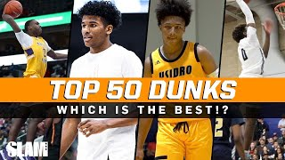 BEST Dunks of the 2019-2020 High School Season! 🔥 SLAM Top 50 Friday