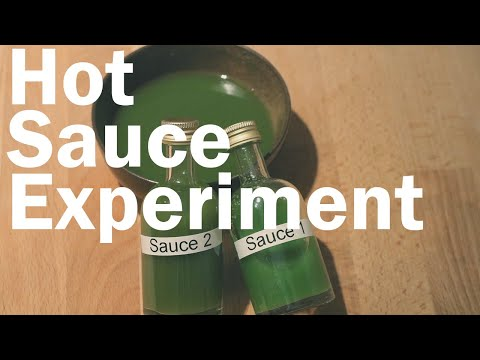 How to Make Hot Sauce, Does Fermentation Make a Difference? (Blind Triangle Test)  Flavor Lab
