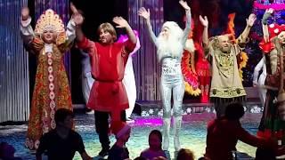 Новогоднее представление «Бабкины сказки» в театре «Русская песня»