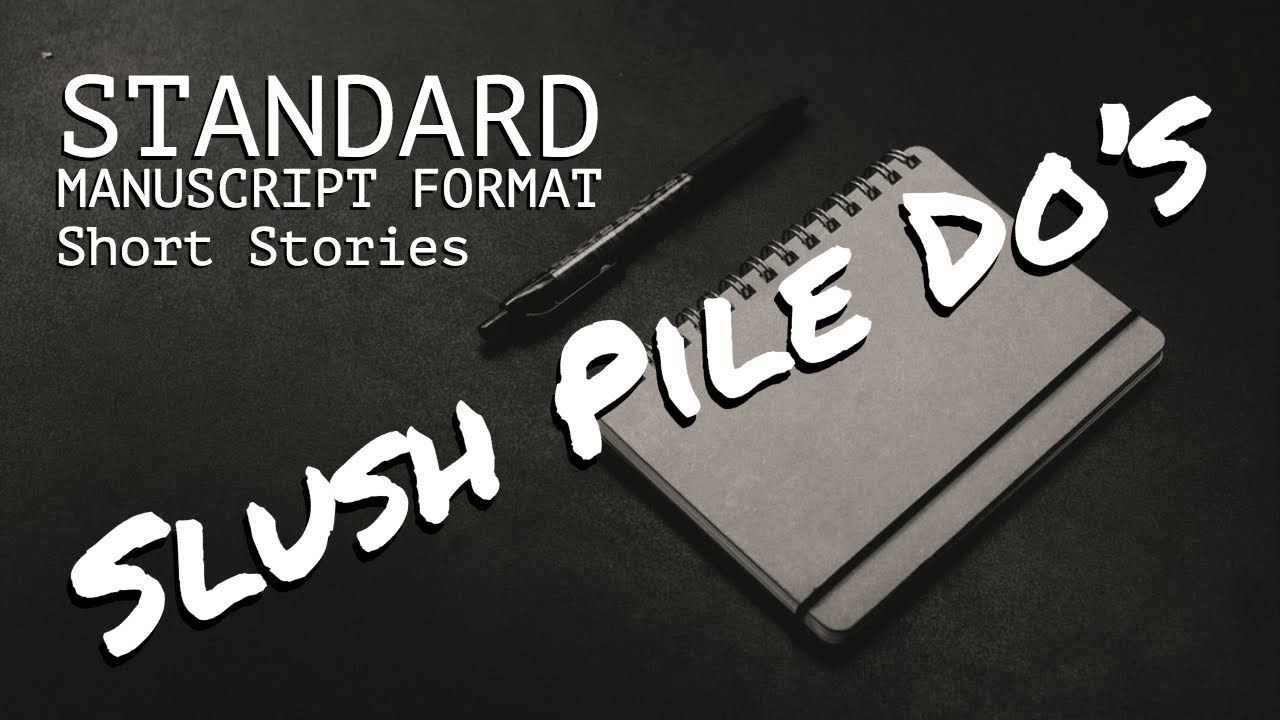 Standard Manuscript Format [SHORT STORIES] | How to Write Flash Fiction
