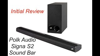 Review | Polk Audio Signa S2 Sound bar 2.1 with sub | Better than more $$$ soundbars