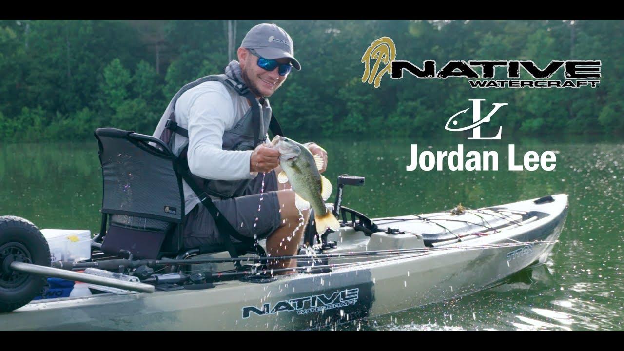 Jordan Lee takes out his Native Watercraft Titan Propel 13 5