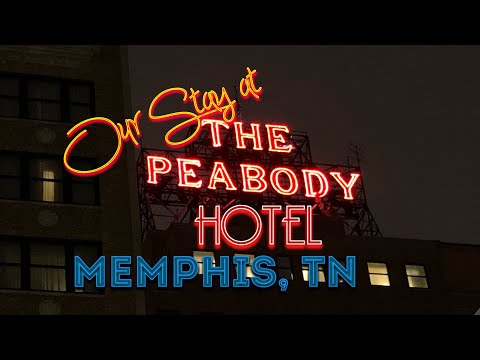 Our Stay At The Peabody Hotel Memphis, TN.
