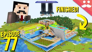 Hermitcraft 7: Episode 77 - FINISHING INDUSTRIAL DISTRICT!