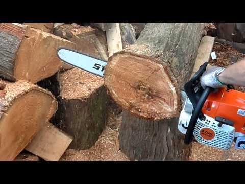 Stihl ms 391 chainsaw - YouTube