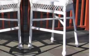 Outdoor Wicker Barstools - Wickerparadise.com