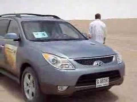 Hyundai Veracruz Test Drive in Dubai