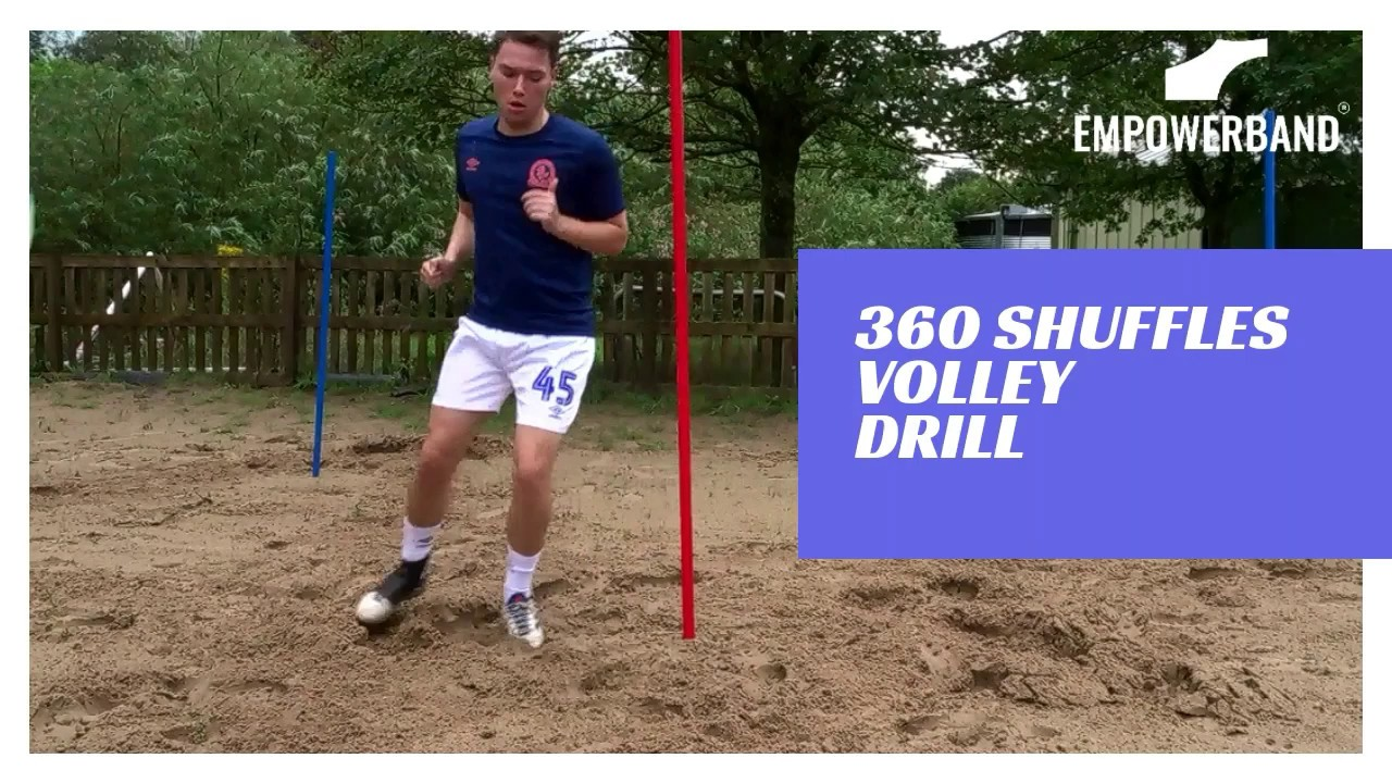 Ankle Strengthening & Rehabilitation Exercises For Football Players; Sand 360 Volley