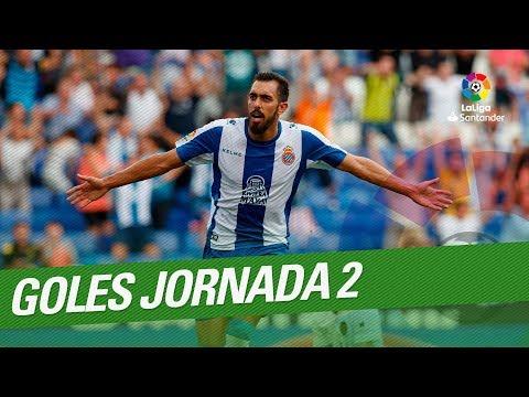 Todos Los Goles De La Jornada 02 De LaLiga Santander 2018/2019