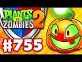 Jack O' Lantern Boosterama! Arena! - Plants vs. Zombies 2 - Gameplay Walkthrough Part 755