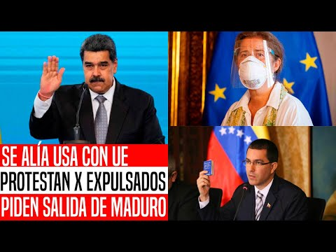 SE ACABÓ! VENEZUELA ALISTA EXPULSIÓN DE MÁS EMBAJADORES EUROPEOS. EUA NUNCA LO VIO VENIR. NOTICIAS