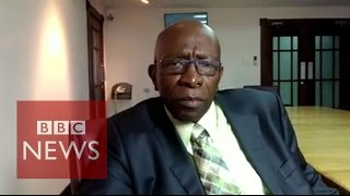 FIFA Corruption Inquiry: Jack Warner responds - BBC News