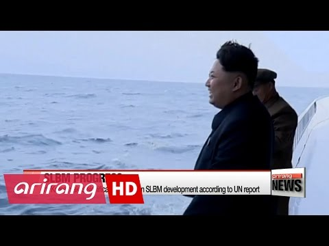 N. Korea makes significant progress in SLBM development according to UN report