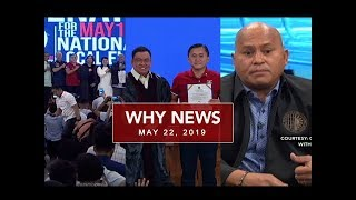 UNTV: Why News (May 22, 2019)