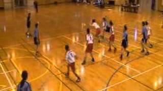 福岡県学生ハンドボール新人戦・女子・福岡大学vs福岡教育大学