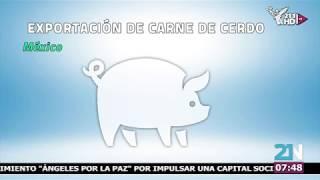 Exportación de Carne de Cerdo en México