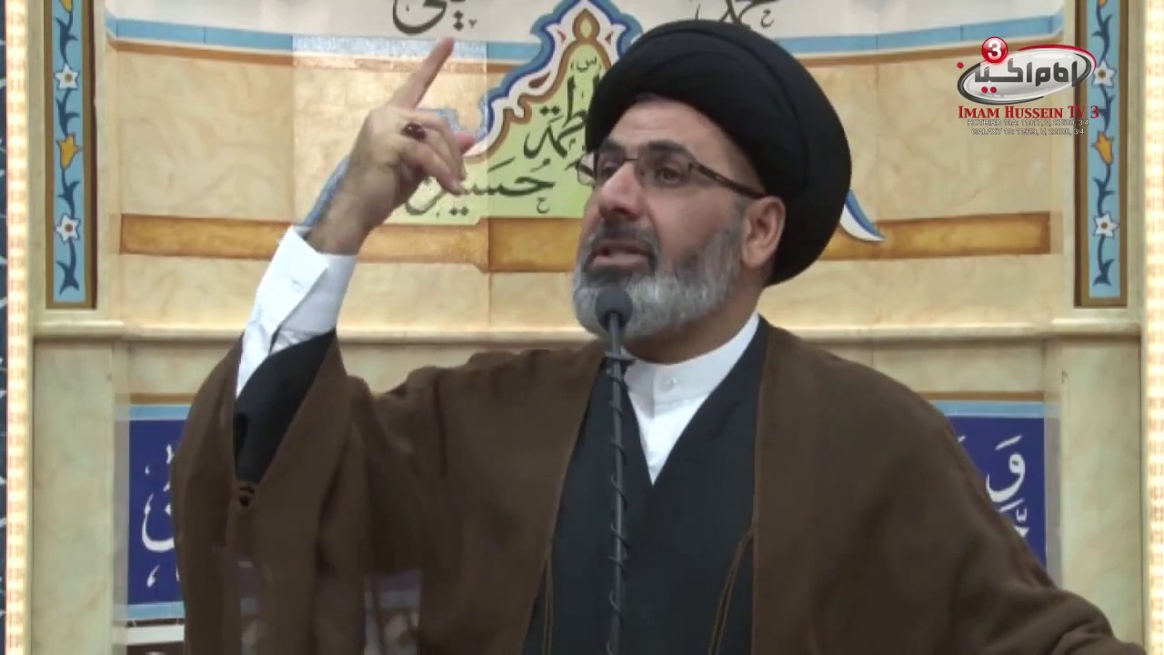 Abu Hanifa was amazed by him! – Sayed Mustafa al-Qazwini