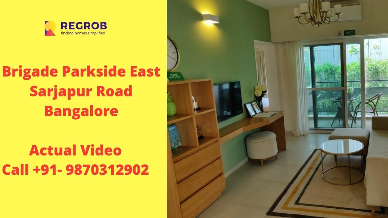 Brigade Parkside East Sarjapur Road Bangalore Sales 9870312902 Actual Video Youtube