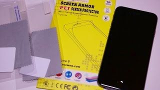 ZeroLemon iPhone 6 Screen Protector | Application & Review