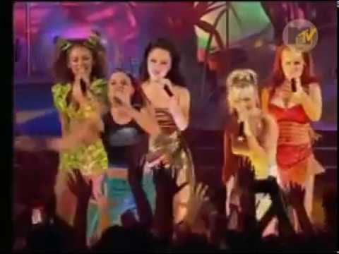 Spice Girls - Spice Up Your Life Live At EMA 1997