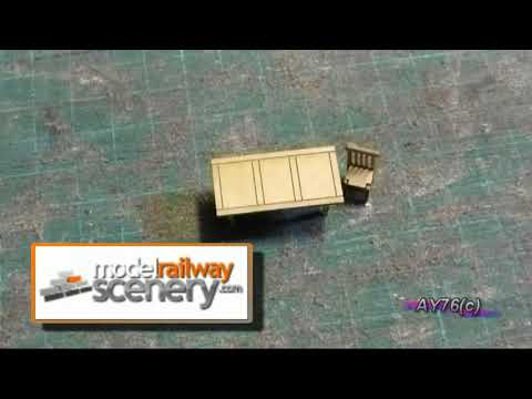Building A Model Railway – Scenics (Wagon Load + Chairs & Tables)