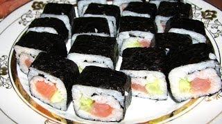 СУШИ своими руками. Как приготовить ДОМА - как в ресторане :) Sushi