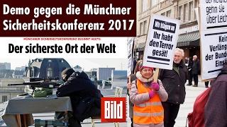 Demonstration gegen die NATO Sicherheitskonferenz in München am 18.02.2017