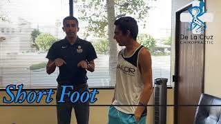 Short Foot - De La Cruz Chiropractic