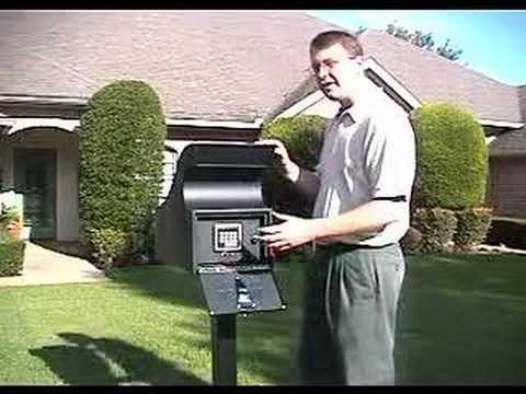 Secure Mail Vault Keyless Locking Mailbox With Post 20308