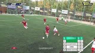 Чемпионат РК по мини футболу 6 6 ЛЛФ2020 Обзор выступления команд Карагандинской области