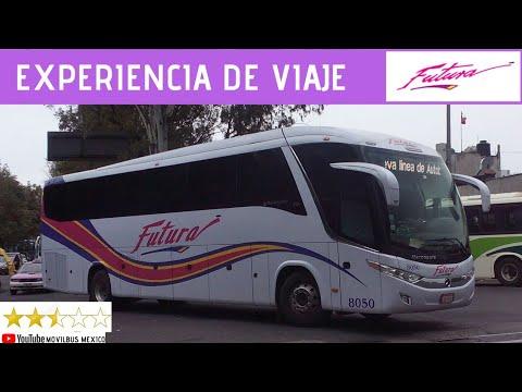 Viajando En FUTURA AUTOBÚS DE PRIMERA CLASE 