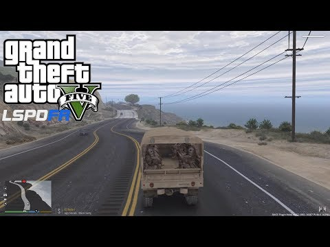 GRAND THEFT AUTO 5 LSPDFR EP #123 - MILITARY OPERATION FAIL (GTA 5 PC POLICE MODS)