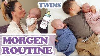 MORGEN ROUTINE mit Zwillingen